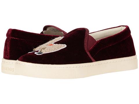Incaltaminte Femei Soludos Velvet Llama Sneaker Sangria