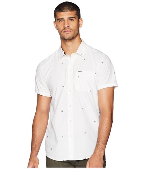 Imbracaminte Barbati Volcom Dragstone Short Sleeve White