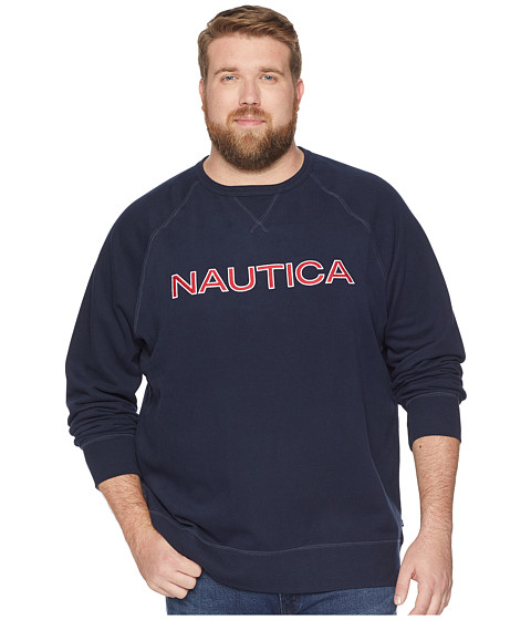 Imbracaminte Barbati Nautica Big amp Tall Fleece Graphic Navy
