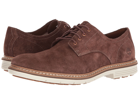 Incaltaminte Barbati Timberland Naples Trail Oxford Dark Brown Suede