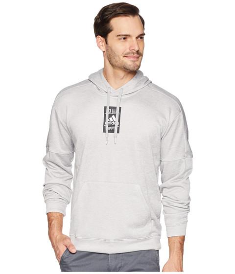 Imbracaminte Barbati adidas Team Issue Patch Hoodie Medium Grey Heather Melange