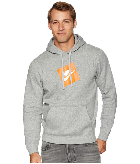 Imbracaminte Barbati Nike NSW Hybrid Hoodie Pullover Fleece Dark Grey Heather