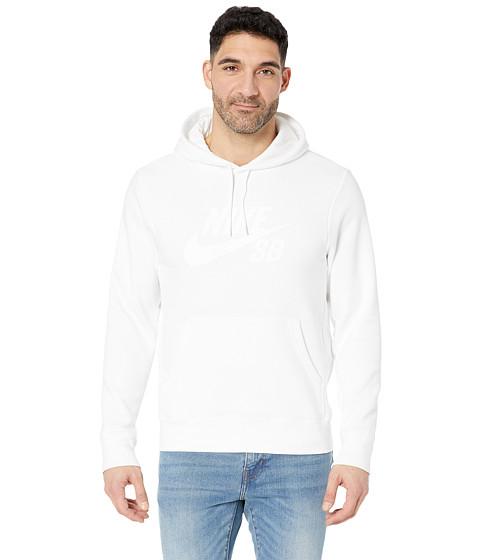 Imbracaminte Barbati Nike SB Icon Pullover Essential Hoodie WhiteWhite