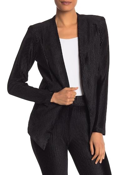 Imbracaminte Femei BCBGeneration Corded Velvet Blazer Jacket BLACK