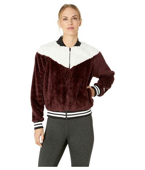 Imbracaminte Femei Nike Nike Sportswear Jacket Bomber Wolf Burgundy CrushDesert SandWhite