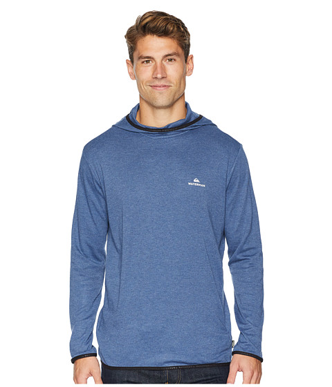 Imbracaminte Barbati Quiksilver Sea Explorer Hoodie Orion Blue Heather