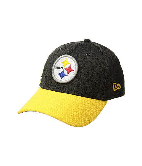Accesorii Barbati New Era 39Thirty Official Sideline Home Stretch Fit - Pittsburgh Steelers BlackYellow
