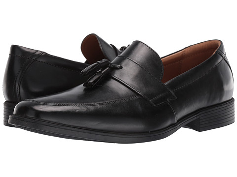Incaltaminte Barbati Clarks Tilden Stride Black Leather