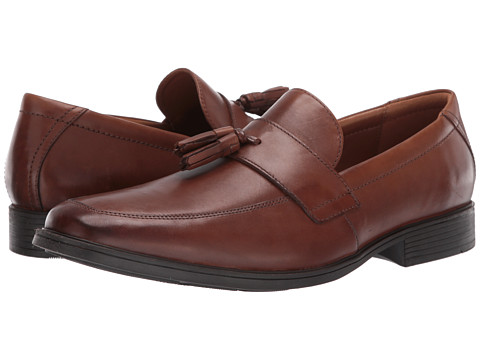 Incaltaminte Barbati Clarks Tilden Stride Dark Tan Leather