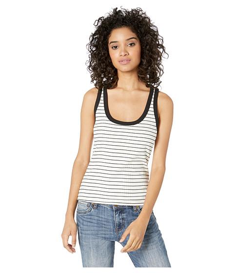 Imbracaminte Femei LAmade Oxygen Tank Top BlackNatural Stripe