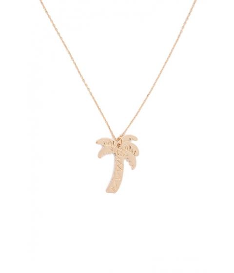 Bijuterii Femei Forever21 Coconut Tree Pendant Necklace GOLD