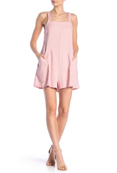 Imbracaminte Femei Abound Linen Blend Crossdye Overall Romper PINK ZEPHYR CD