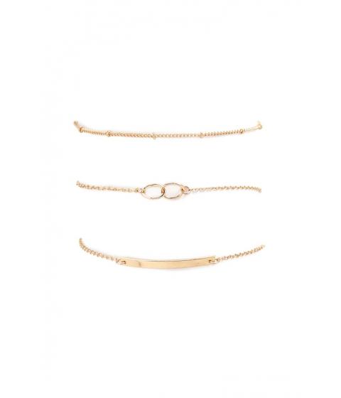 Bijuterii Femei Forever21 Assorted Chain Bracelet Set GOLD