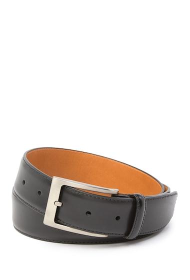 Accesorii Barbati Magnanni Square Buckle Leather Belt BLACK