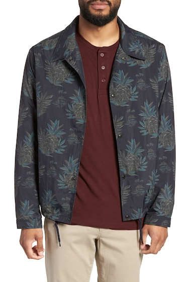 Imbracaminte Barbati Vince Tropical Regular Fit Coachs Jacket NEW COASTAL
