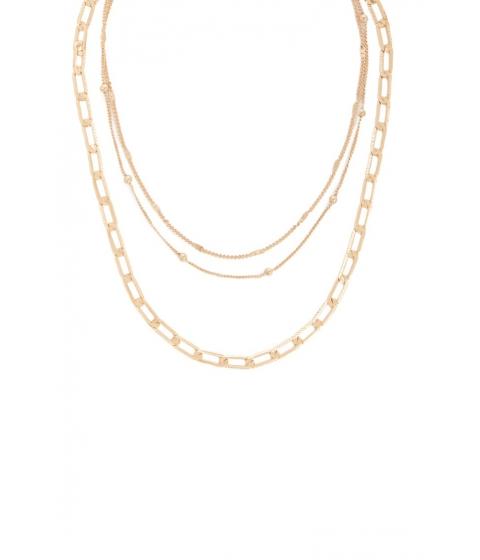 Bijuterii Femei Forever21 Chain link Necklace Set GOLD