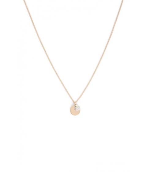 Bijuterii Femei Forever21 Geo Pendant Necklace GOLD
