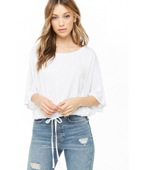 Imbracaminte Femei Forever21 Dolman Sleeve Top WHITE