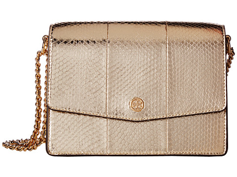 Genti Femei Tory Burch Robinson Exotic Convertible Shoulder Bag Gold