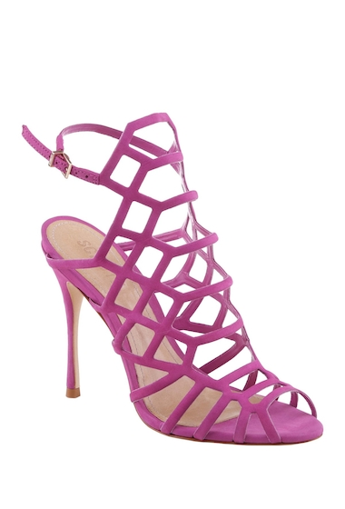 Incaltaminte Femei Schutz Juliana Caged Stiletto Sandal SPORTY PIN