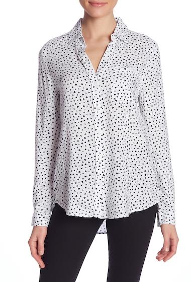 Imbracaminte Femei BeachLunchLounge Alana Printed Button Front Shirt LES COEURS