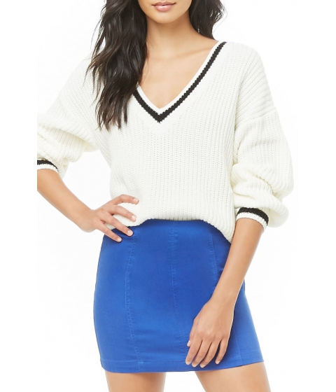 Imbracaminte Femei Forever21 Paneled Denim Mini Skirt BLUE