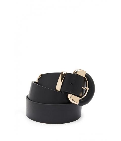 Accesorii Femei Forever21 Faux Leather Waist Belt BLACK