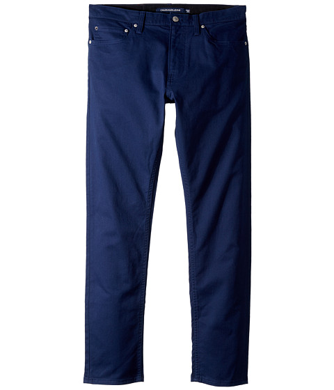 Imbracaminte Barbati Calvin Klein Five-Pocket Stretch Twill Pants Peacoat