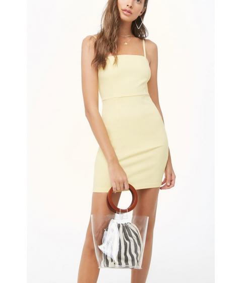 Imbracaminte Femei Forever21 Bodycon Cami Dress YELLOW