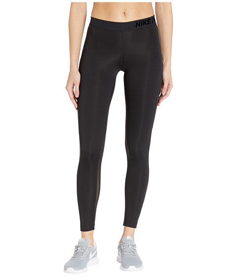 Imbracaminte Femei Nike Pro Warm Mesh Veneer Tights BlackBlack