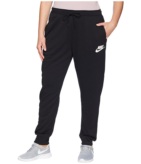 Imbracaminte Femei Nike Plus Size Regular Rally Pants BlackBlackWhite