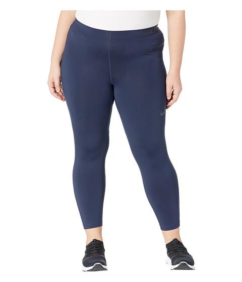 Imbracaminte Femei Nike Pro Training Capri (Size 1X-3X) ObsidianBlack