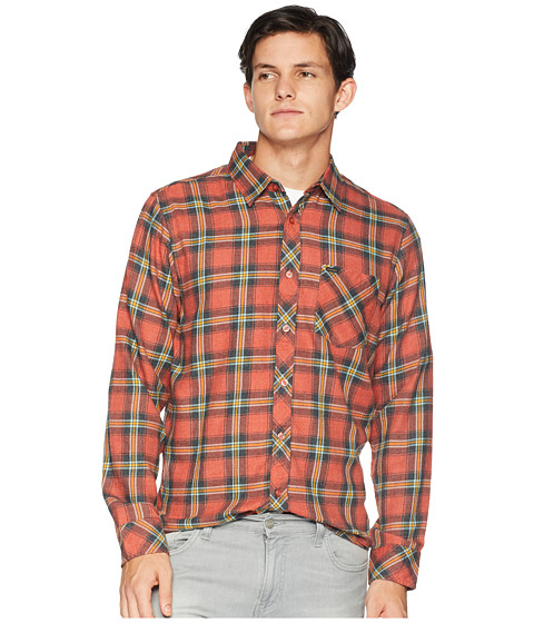 Imbracaminte Barbati Rip Curl Dayton Long Sleeve Shirt Red
