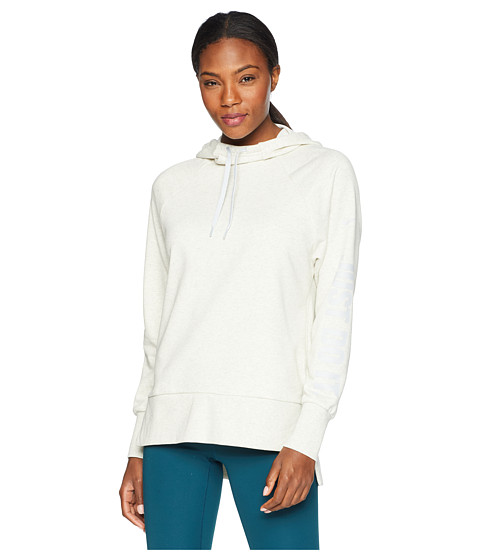Imbracaminte Femei Nike Dry Graphic Just Do It Pullover Hoodie Oatmeal HeatherDesert Sand