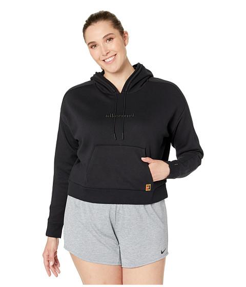 Imbracaminte Femei Nike Court Hoodie Pullover BlackWhiteWhite