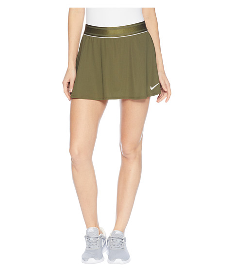 Imbracaminte Femei Nike Court Dry Skirt Flouncy Olive CanvasWhiteOlive Canvas