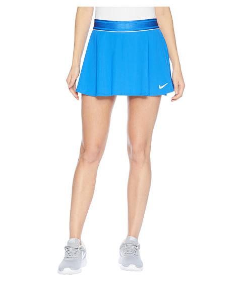 Imbracaminte Femei Nike Court Dry Skirt Flouncy Signal BlueWhiteSignal Blue