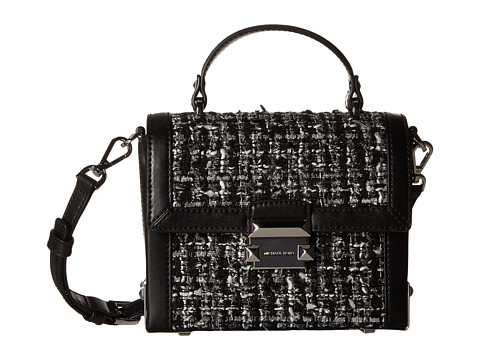 Genti Femei Michael Kors Jayne Small Trunk Bag Black