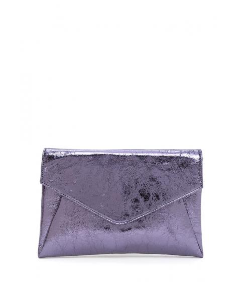 Accesorii Femei CheapChic Precious Metals Textured Envelope Clutch Pewter