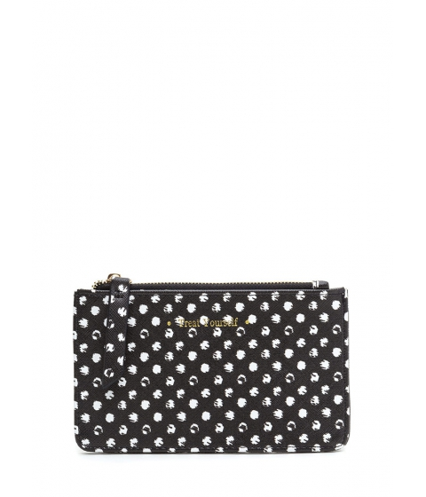 Accesorii Femei CheapChic Treat Yourself Polka Dot Coin Purse Black
