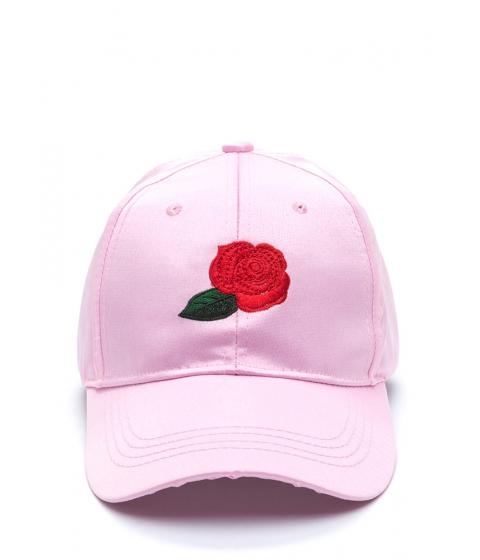 Accesorii Femei CheapChic Wild Rose Satin Baseball Hat Pink