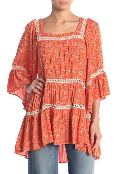 Imbracaminte Femei Free People Talk About It Tunic CORAL