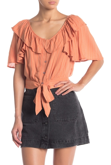 Imbracaminte Femei Free People The Rosemary Top PEACH