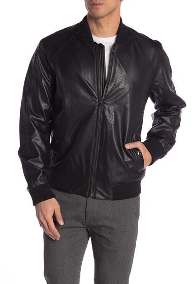 Imbracaminte Barbati Michael Kors Faux Leather Jacket BLACK
