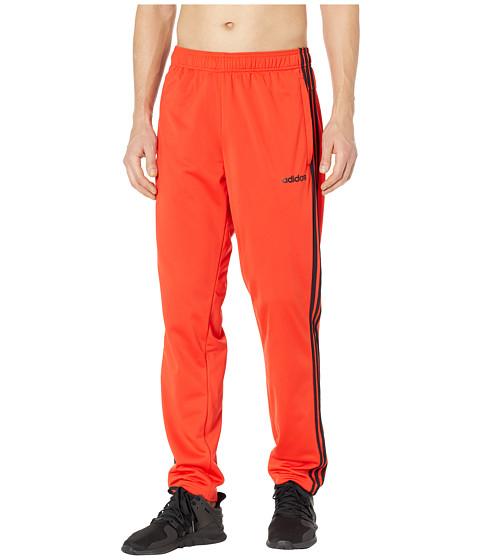 Imbracaminte Barbati adidas Essentials 3-Stripes Tricot Track Pants Active RedBlack