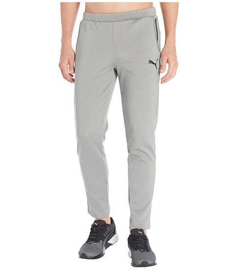 Imbracaminte Barbati PUMA Tec Sports Pants Medium Grey Heather