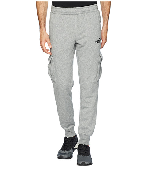 Imbracaminte Barbati PUMA ESS Pocket Pants Medium Gray Heather