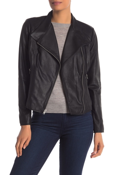 Imbracaminte Femei Marc New York Oscar Leather Jacket BLACK