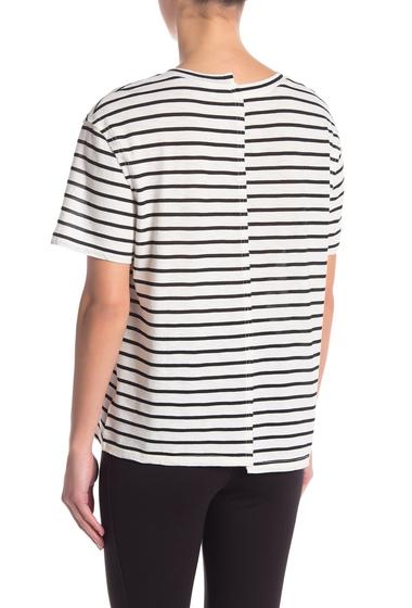 Imbracaminte Femei Splendid Milo Stripe Tee OFF WHITE
