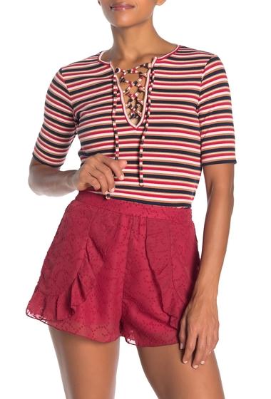 Imbracaminte Femei The Fifth Label Parade Stripe Lace-Up Tee MULTICOLOURED